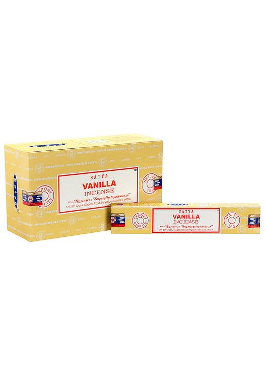 Satya Vanilla Incense Sticks