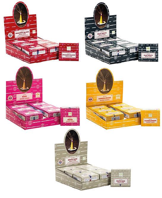 Satya Incense Cones - Box of 12