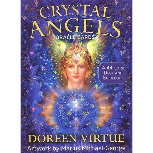 Crystal Angels (Oracle Cards) By Doreen Virtue
