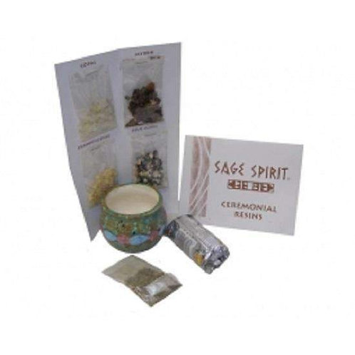 Ceremonial Native Resin Smudging Pack