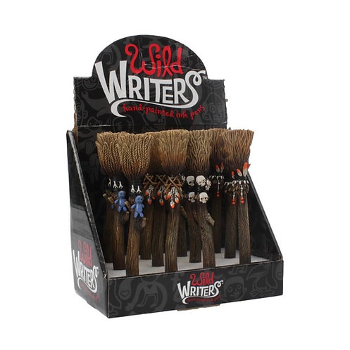 Wild Writers Broomstick Ball point Pen 16cm