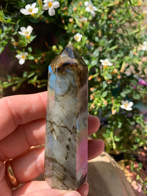Labradorite Polished Tower