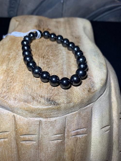 Shungite Bead Bracelet