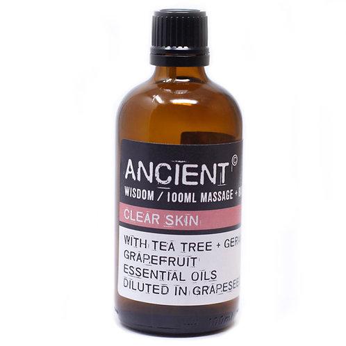 Clear Skin Massage Oil - 100ml