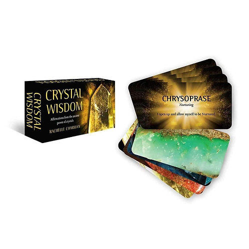 Crystal Wisdom. Inspirational, Affirmation Mini Cards