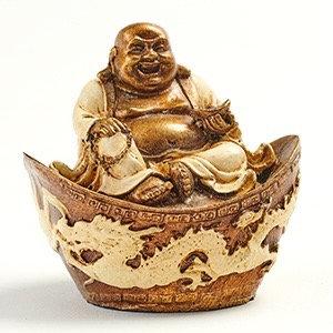Chinese Buddha on a Boat