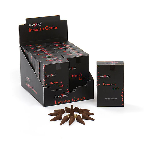Stamford Demons Lust Incense Cones