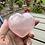Thumbnail: Rose Quartz Crystal Carved Heart