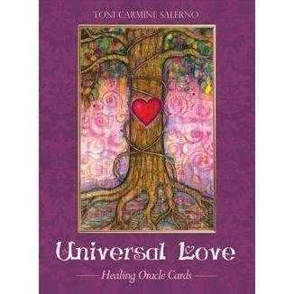 UNIVERSAL LOVE Healing Oracle Cards: 45 Cards, 72 page Book