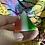 Thumbnail: Fibre Optic Carved Pyramid (man made)