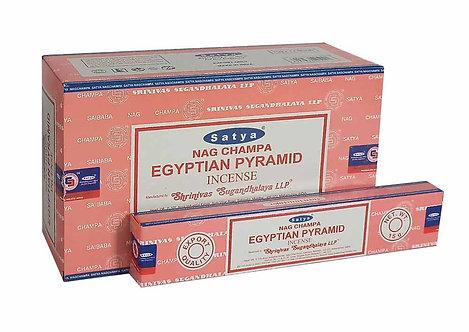 Satya Egyptian Pyramid Incense Sticks