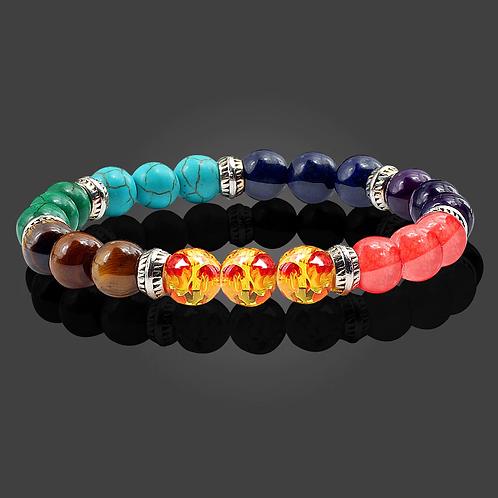 Chakra Bead Bracelet. Meditation, Reiki. 7 Chakra Balance