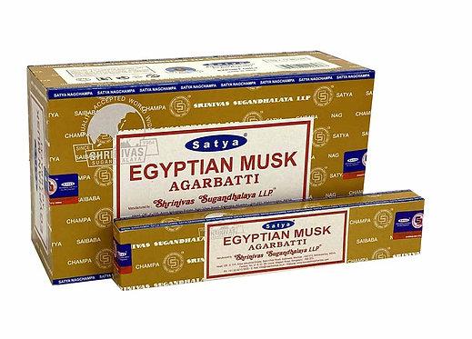 Satya Egyptian Musk Incense Sticks