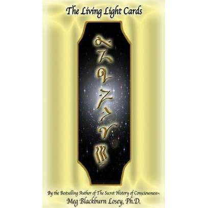 LIVING LIGHT CARDS: 78 full-colour cards and an 88-page guide book