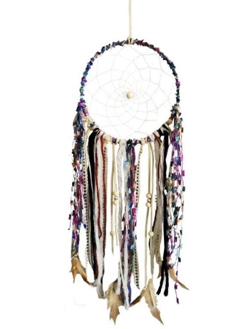 Ashling Harmony Multicoloured Ribbon Dreamcatcher 16cm (Large)