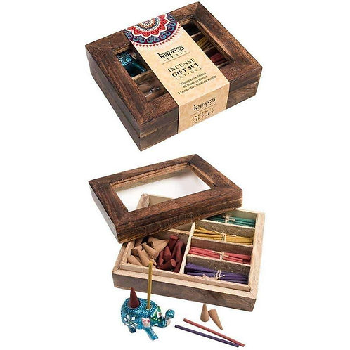 Karma Scents Incense Gift Box with Holder