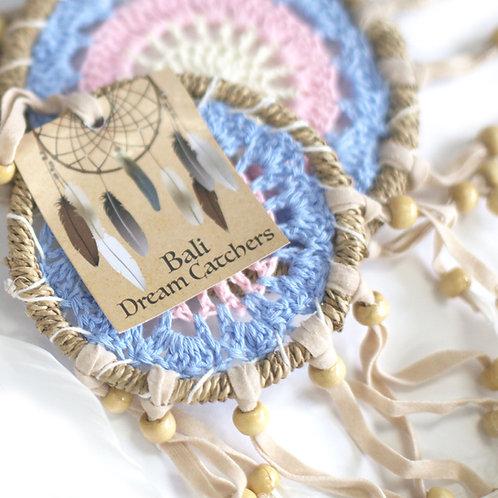 Bali Dreamcatchers 9cm Assorted Pastal Colours
