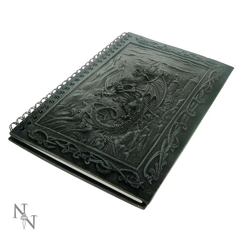 Dragons Kingdom Journal With Dragon Resin Cover 20cm