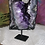 Thumbnail: Uruguayan Large Carved Amethyst Heart Druze
