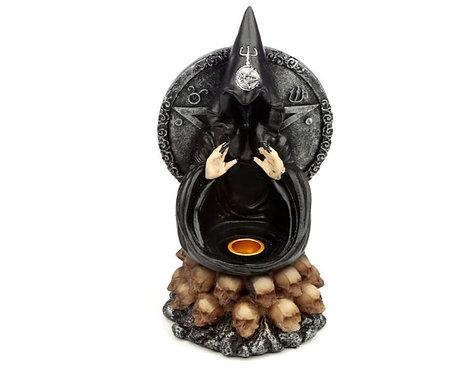 Black Magic Backflow Incense Burner