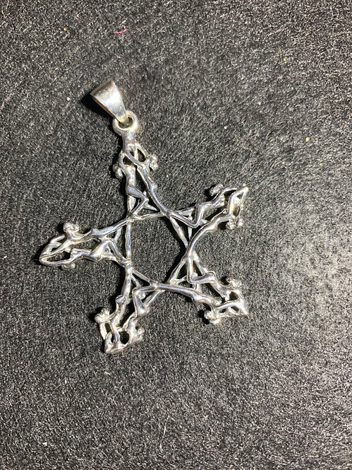 Goddess The Star ~ A Sterling Silver Pendant