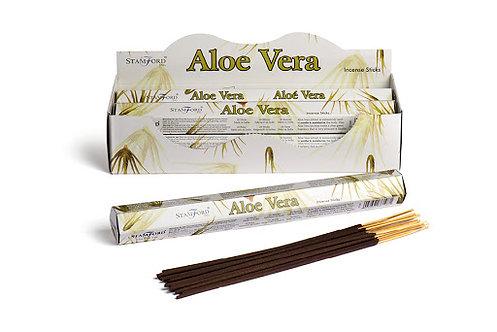 Stamford Aloe Vera Hex Incense Sticks