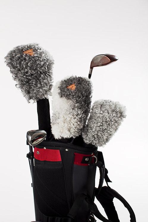 Golfklubbsskydd i fårull