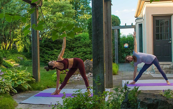 Intro to Yoga - in the gardens