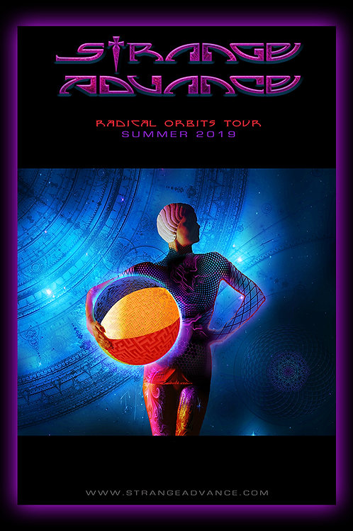 Radical Orbits Tour - Poster