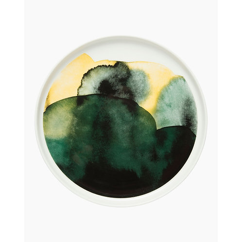 MARIMEKKO - Oiva/Sääpäiväkirja Teller, 20 cm, weiss,grün