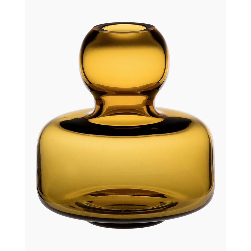 Marimekko Flower Vase Amber