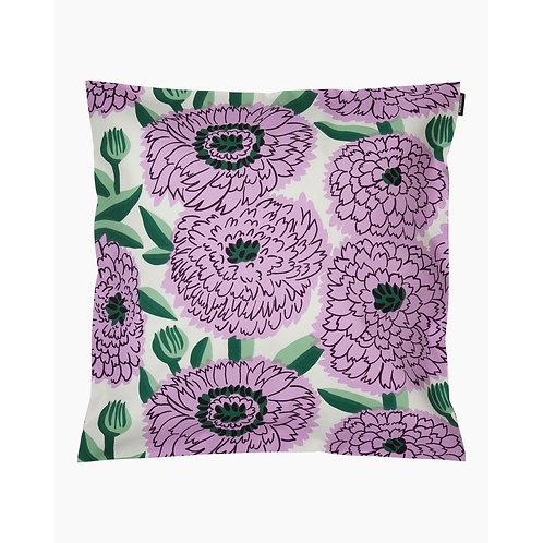 MARIMEKKO - Pieni Primavera Kissenbezug 45 x 45, weiss, grün, lila