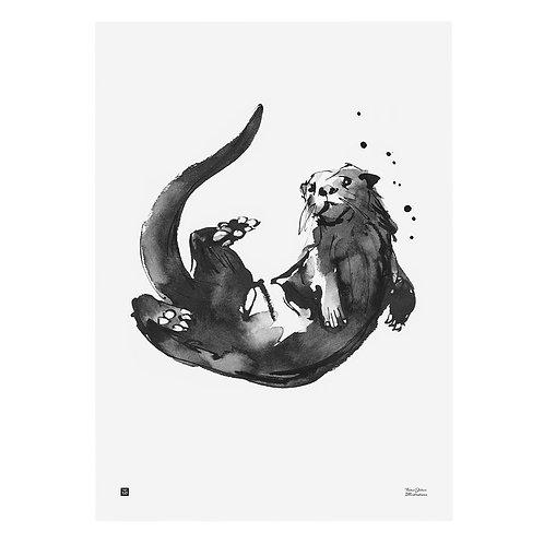 TEEMU JÄRVI - Poster. Otter, 50 x 70 cm