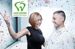 Zahnarzt Sentürk mit Ehefrau