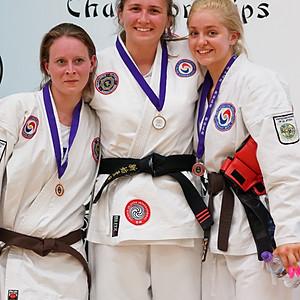Southend Ju-Jitsu Competition podium