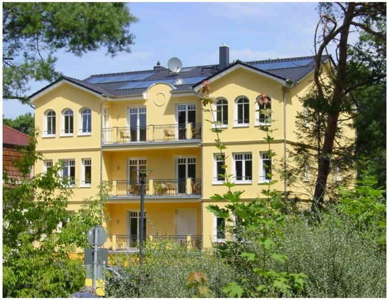 Aparthotel Usedom Gartenseite
