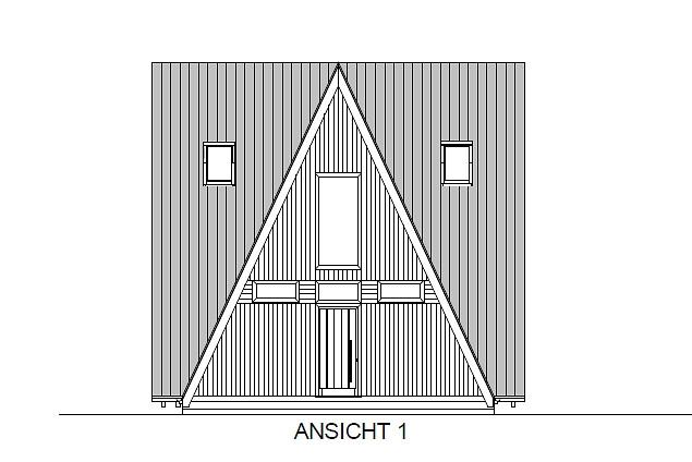 Entwurf Finnhütte 1