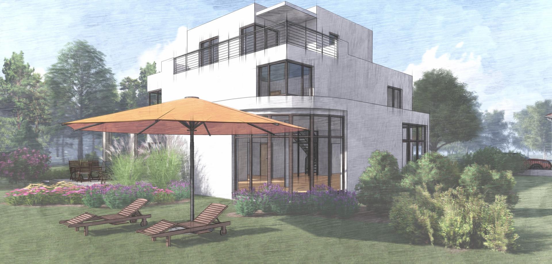 Entwurf Stadtvilla Spindlersfeld