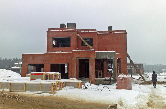 Rohbau Haupthaus 2