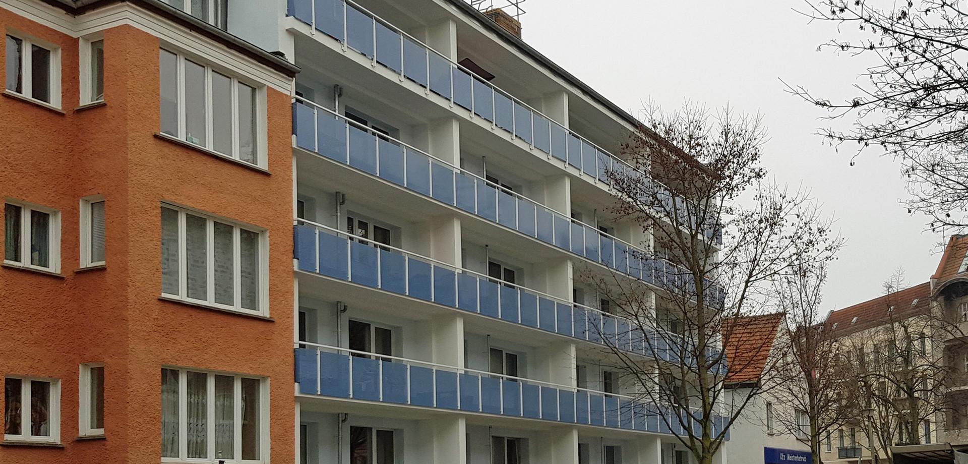 Fassade nach Fertigstellung 1