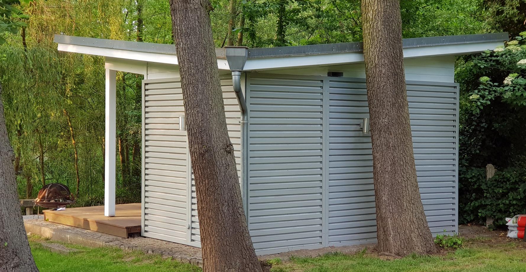 Outdoor-Sauna