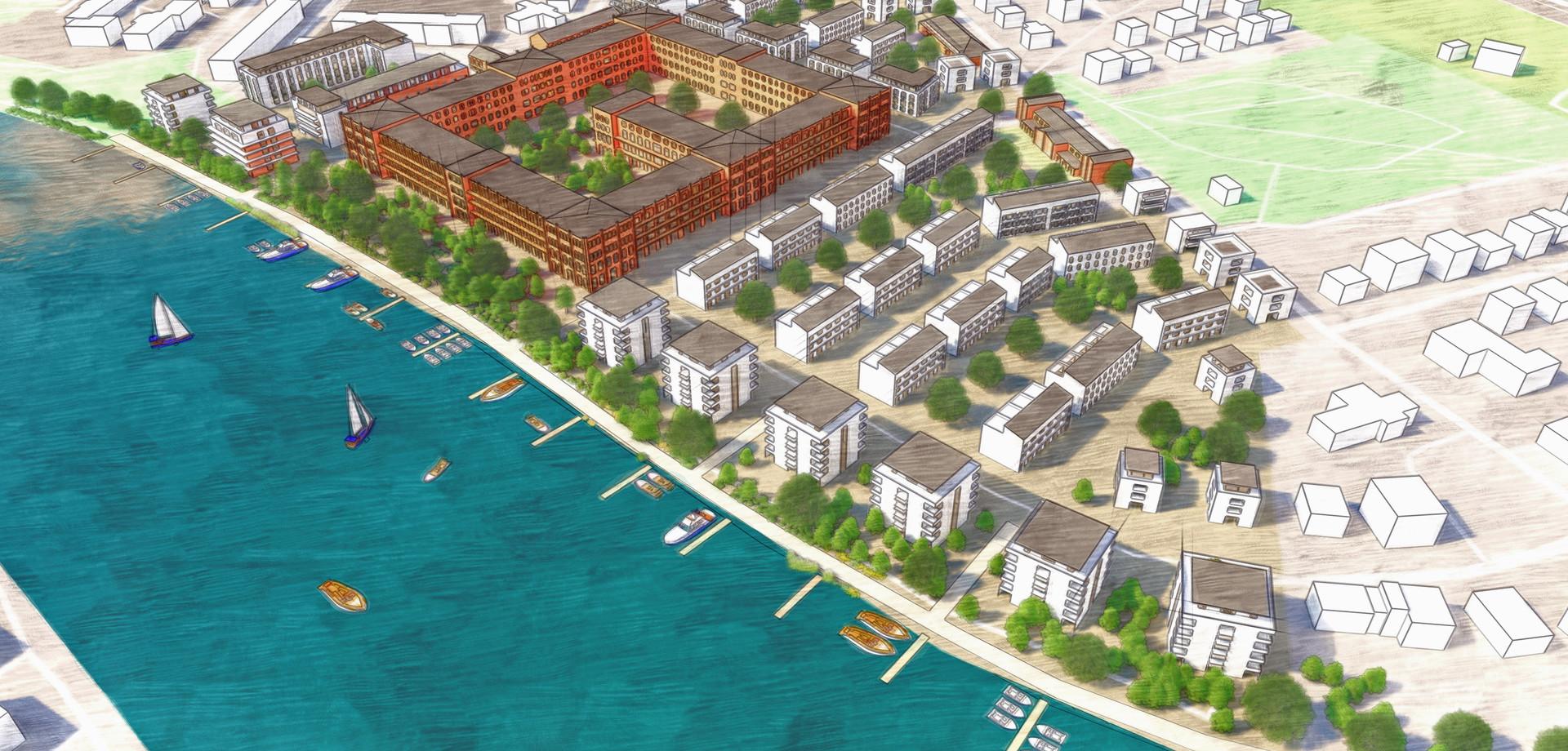 Visualisierung Wasserstadt