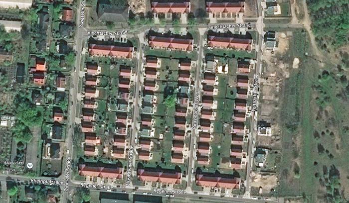 Luftbild Gartenstadt