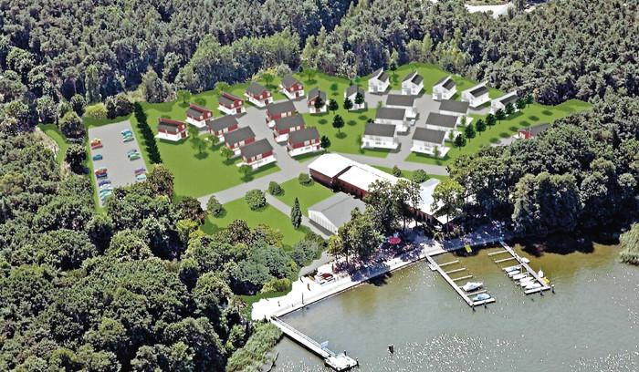 Luftbild Ferienhaus-Anlage 1