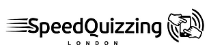 SpeedQuizzing London (black on transpare
