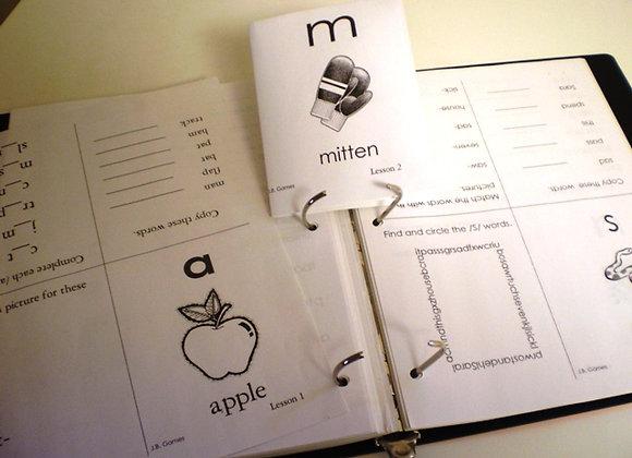 C.D. #8 Activity Mini Fold-up Booklets