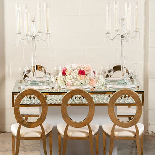 Our new crystal table suited for bride &
