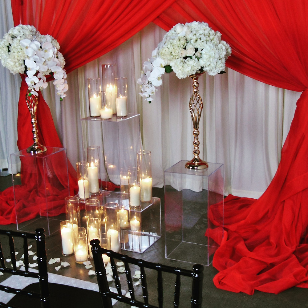Ceremony Drapery Backdrop