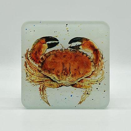 Crab Glass Coaster