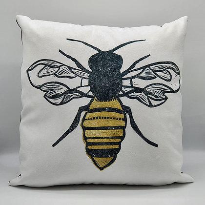 """The Pollinator"" Bee Cushion"